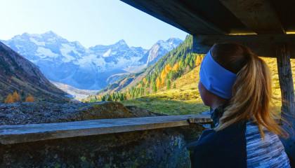 Goldener Herbst im Zillertal
