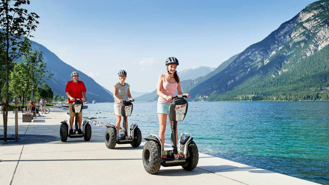 Segway Fahrt Achensee Tirol