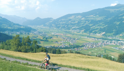 Aktiv in den Bergen